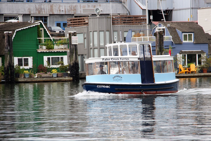 False Creek Passenger Ferry Vanbcouver