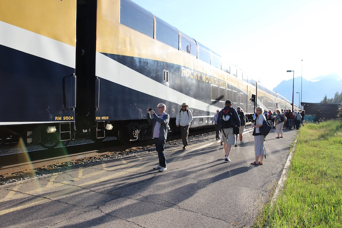 Rocky Mountaineer Banff Station