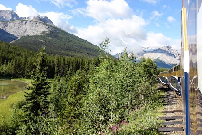 Rocky Mountaineer Train Banff to Kamloops