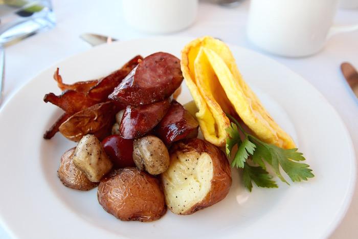 Breakfast Omlette Rocky Mountaineer Train