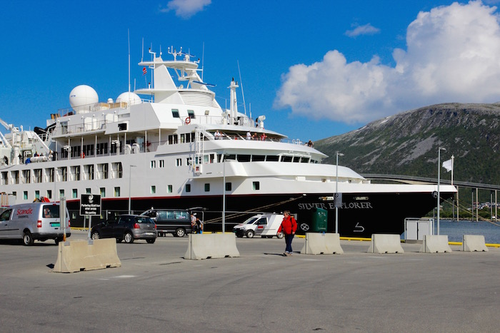 Silver Explorer in Tromso