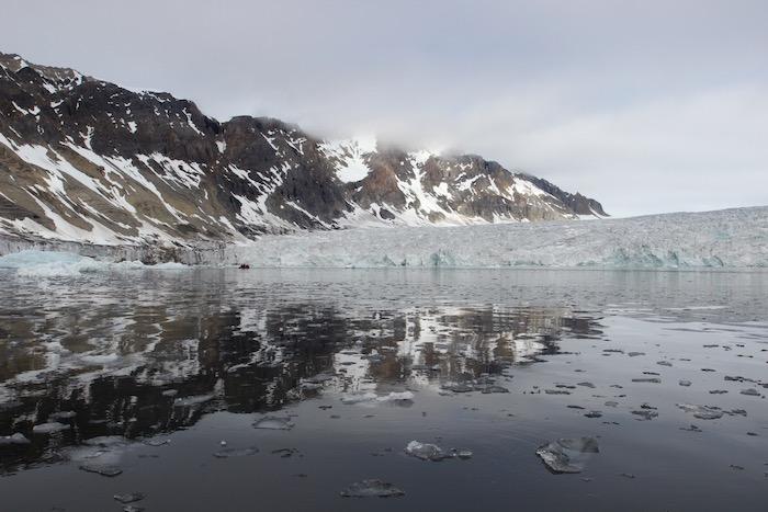 Burgerbukta Glacier Svalbard