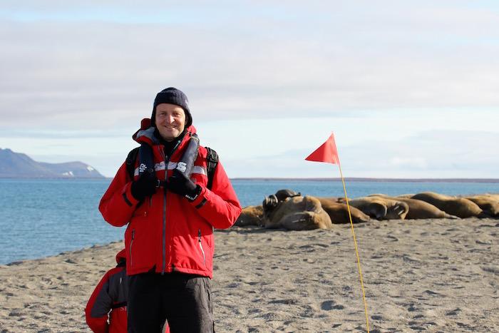 Walrus at Poolepynten, Svalbard