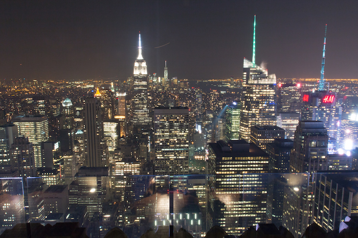 "New York at night from ""Top of the Rock"""