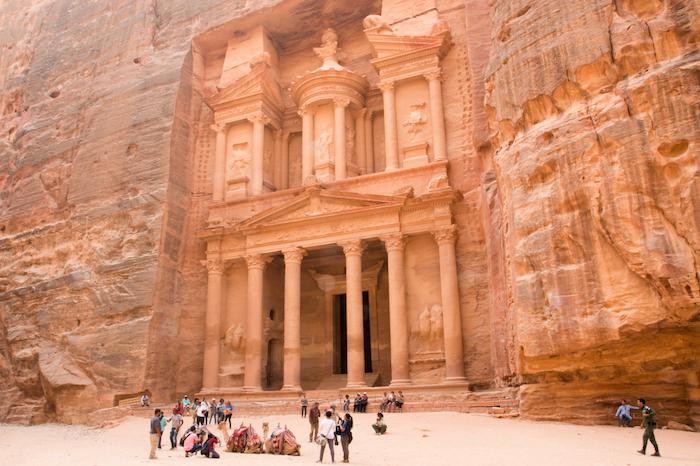 """""""Treasury"""" in Petra Jordan"""