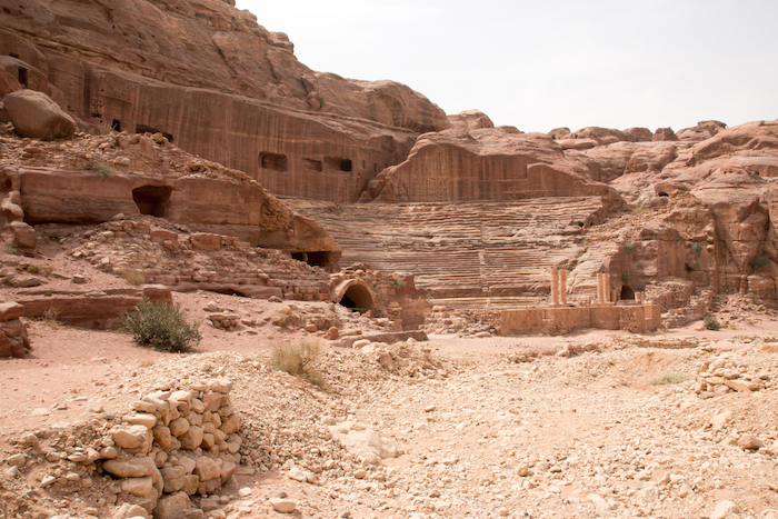 Amphitheatre Petra Jordan