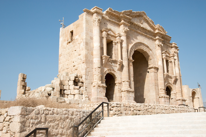 Harian's Gate Jerash Jordan