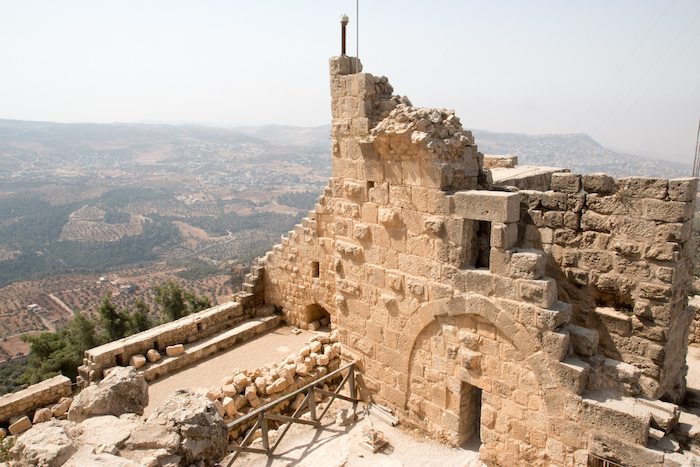 Ajloun Castle fortress in Jordan