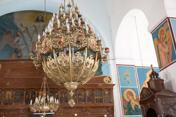 Saint George Church - Madaba Map Jordan