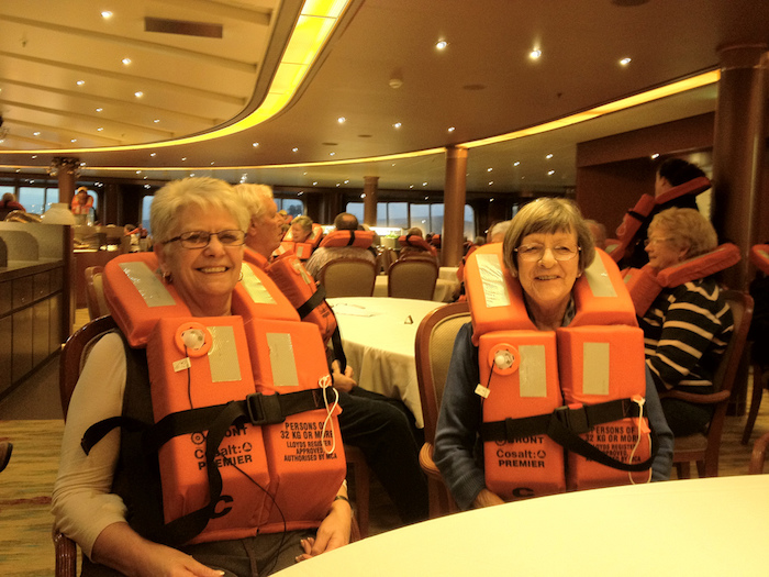 Emergency Drill - Lifejackets