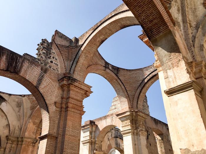 La Antigua Cathedral Ruins Guatemala