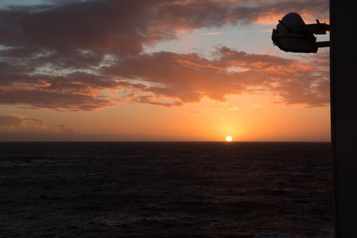 Victoria at sea