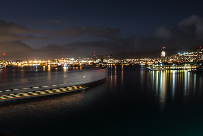 Honolulu Hawaii Harbour