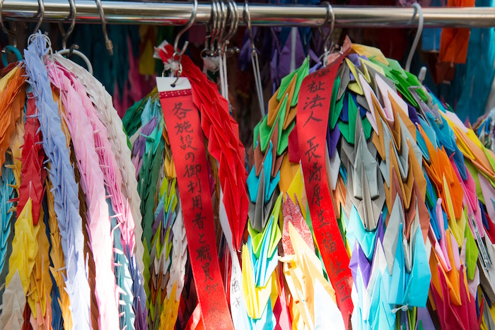 Nagasaki Atomic Museum 1,000 Cranes Garlands