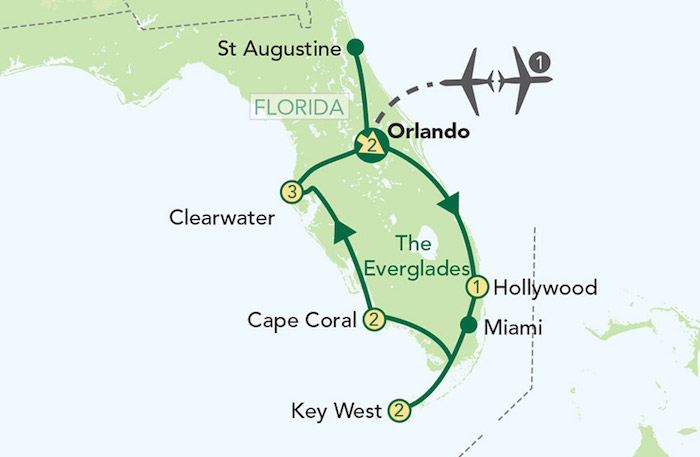 Titan Travel Best Of Florida Map