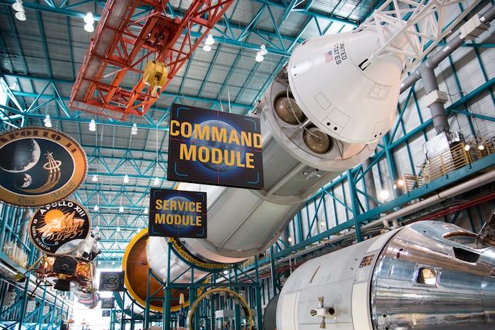 Saturn V Rocket at Kennedy Space Center Florida