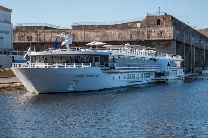 CroisiEurope Loire Princesse River Cruise Boat Saint Nazaire