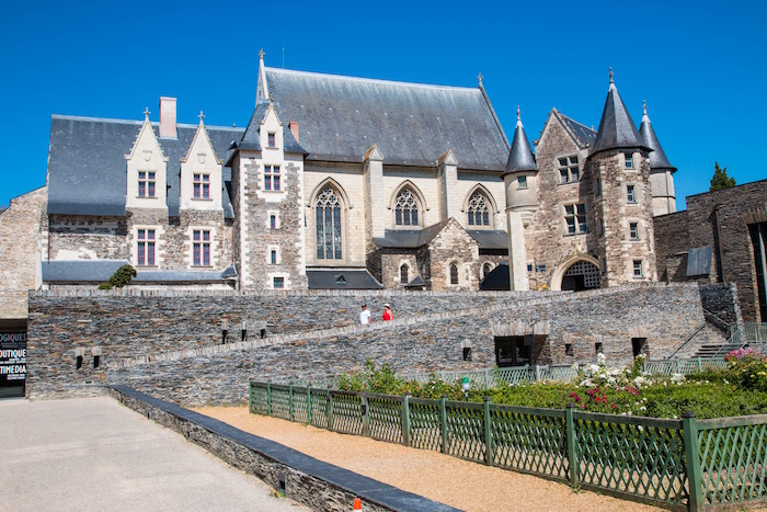 Cathedral at La Chateau d'Angers France
