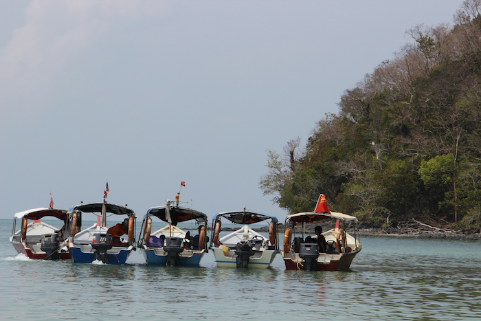 Langkawi Malaysia water taxis
