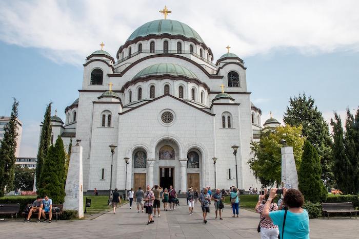 Saint Sava Church Belgrade Serbia