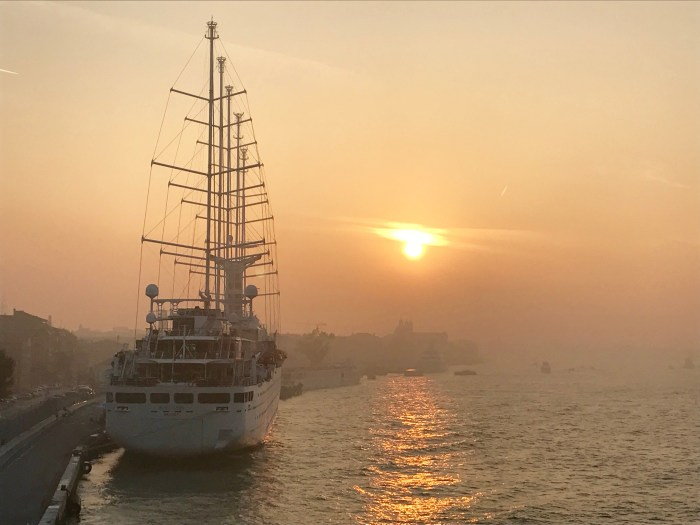 Windstar Wind Surf in Venice Italy