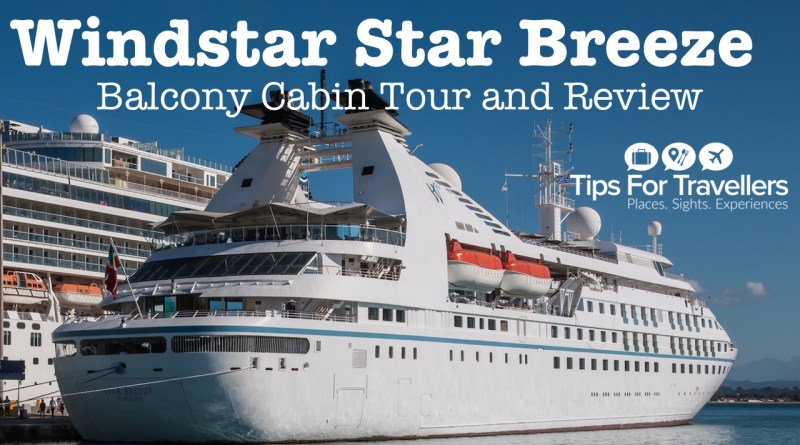 Windstar Star Breeze balcony cabin video tour