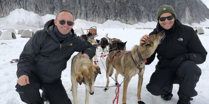 Dog Sledding on Norris Glacier Juneau