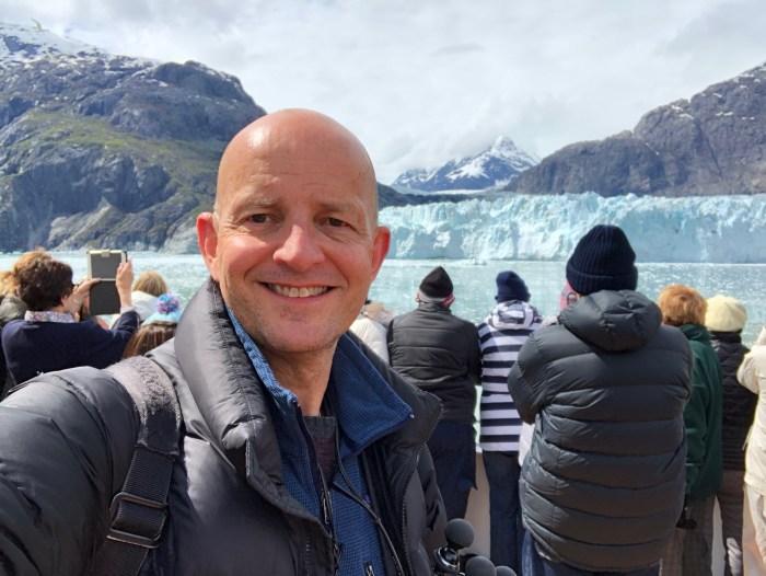 Glacier Bay Alaska on Holland America Nieuw Amsterdam