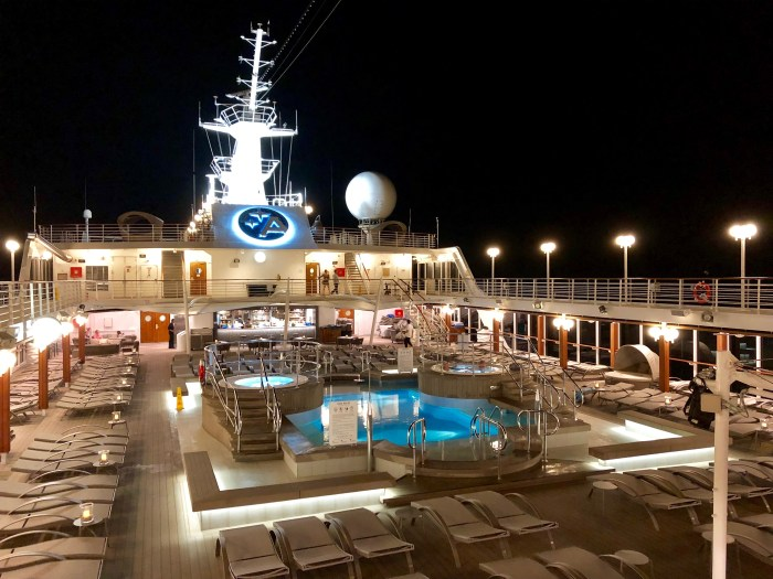 Azamara Pursuit Pool Deck