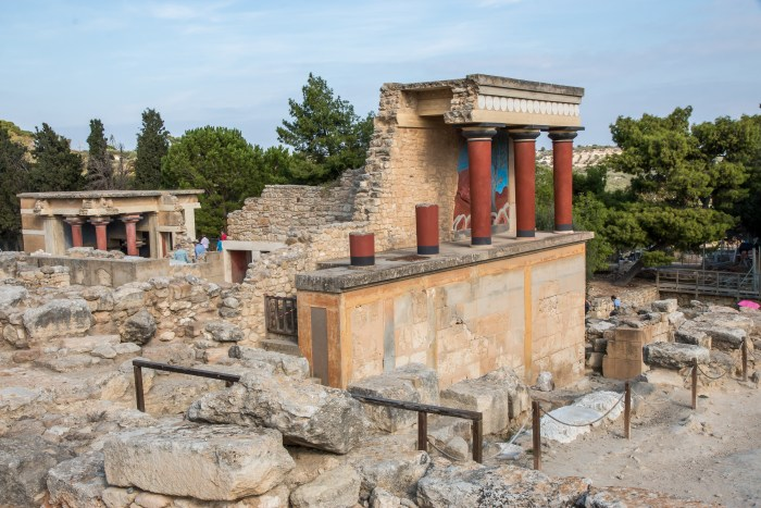 Palace of Knossos Crete Greece