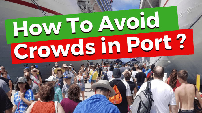 How to Avoid Crowds in Cruise Ports