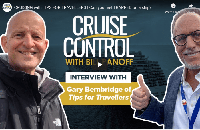 Cruise Control with Bill Panoff Interviews Gary Bembridge
