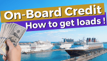 Cruise On-Board Credit Tips