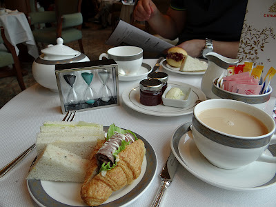 Cunard & Twinings Tea Rituals Afternoon Tea on the Queen Elizabeth: Sandwiches