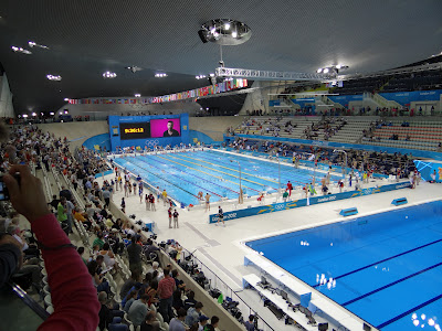 London 2012 Olympics Aquatics Centre Stratford London