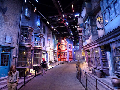 Diagon Alley at Harry Potter Studio Tour Warner Bros. Leavesden