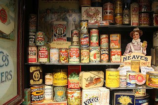 Museum of Brands, Packaging and Advertising. Notting Hill. London (via https://www.tipsfortravellers.com )