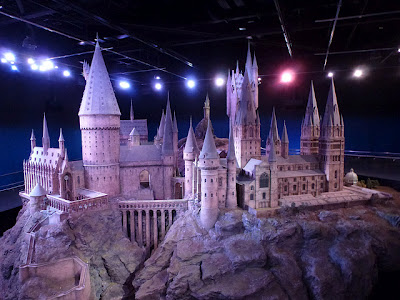 Hogwarts Model at Harry Potter Studio Tour Warner Bros. Leavesden