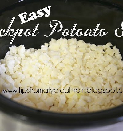 Easy Crockpot Potoato Soup with Hashbrowns- Paula Deen's Recipe
