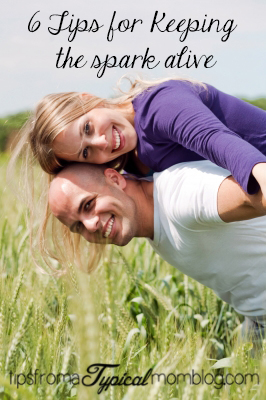 Keeping the spark alive in your marriage- 6 steps you can do!