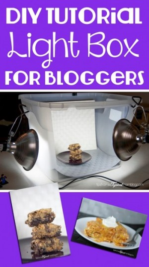 DIY Tutorial Light Box for Bloggers