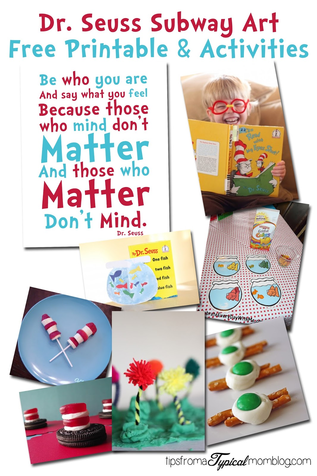 photo relating to Dr.seuss Quotes Printable named Dr. Seuss Quotation Printable and Actions for little ones - Pointers