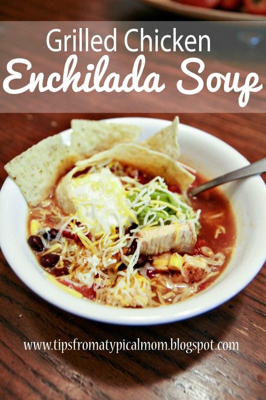 Chicken Enchilada Soup Recipe 4