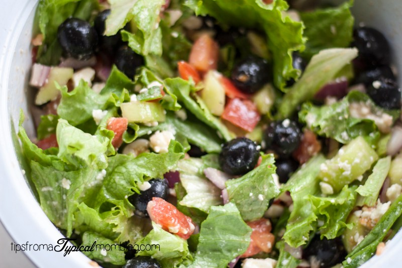 Clean Eating Greek Salad