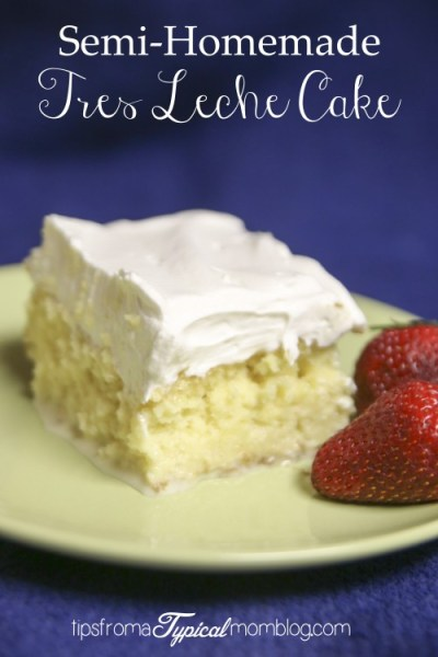 Semi-Homemade Tres Leche Cake Recipe