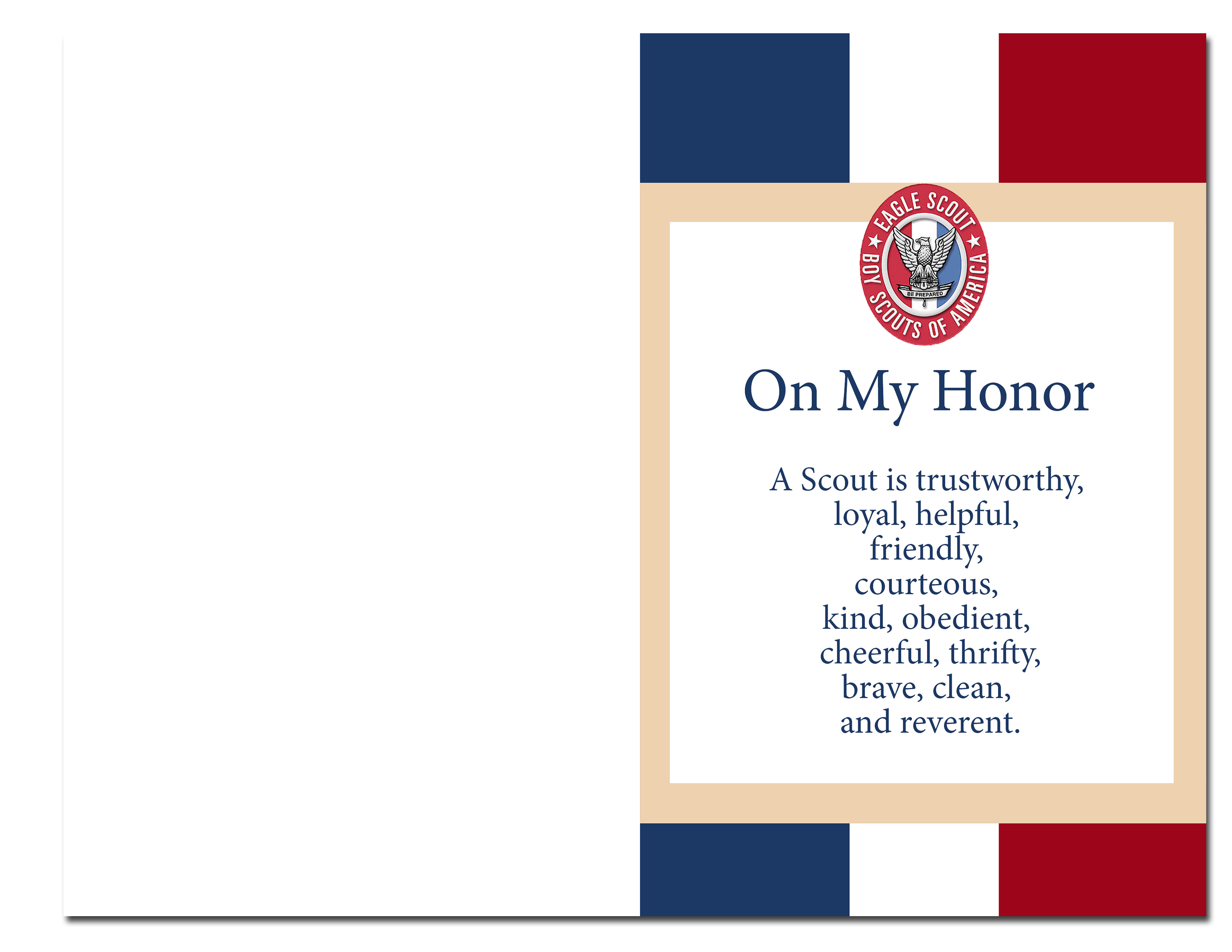 Scout Court of Honor Ideas and Free Printables – Eagle Scout Invitation Cards