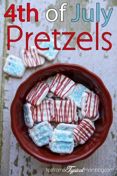 4th of July Pretzels Treat