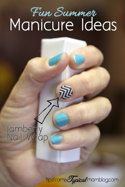 Manicure Ideas for Summer with Jamberry Nail Wraps