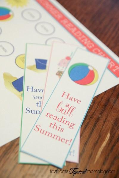 Free Printable Summer Reading Chart & Reward System for Kids