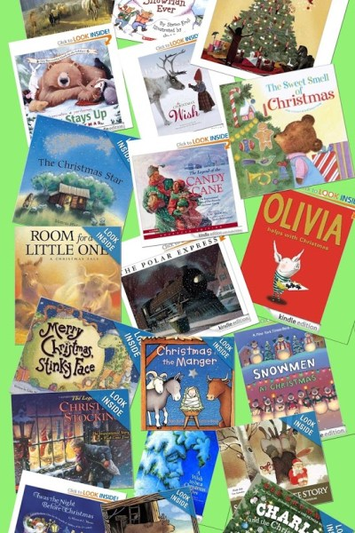 preschool christmas book list